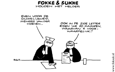 Fokke en Sukke 5 april 2006