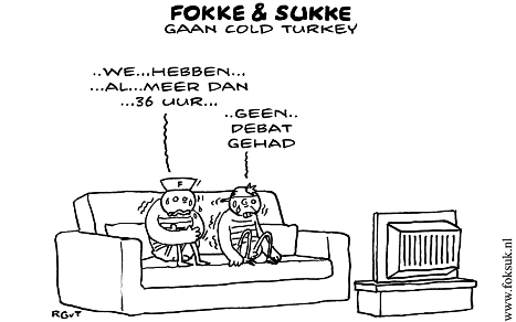 Fokke en Sukke gaan cold turkey 13-09-12